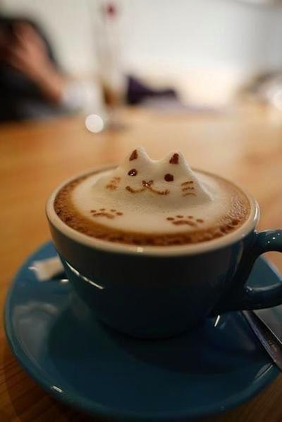 Kahve köpüğü sanatının en iyi 40 örneği - 1