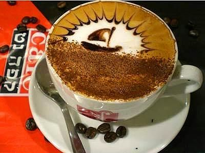 Kahve köpüğü sanatının en iyi 40 örneği - 16