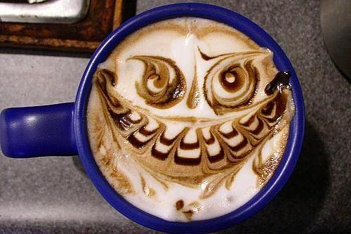 Kahve köpüğü sanatının en iyi 40 örneği - 17