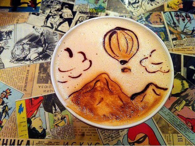 Kahve köpüğü sanatının en iyi 40 örneği - 26