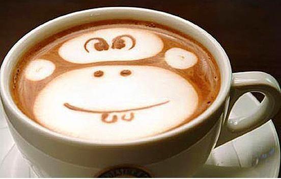 Kahve köpüğü sanatının en iyi 40 örneği - 8