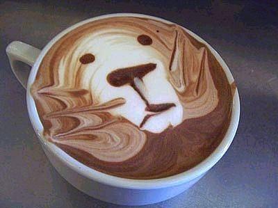 Kahve köpüğü sanatının en iyi 40 örneği - 4