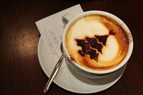 Kahve köpüğü sanatının en iyi 40 örneği - 14