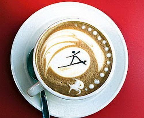 Kahve köpüğü sanatının en iyi 40 örneği - 20