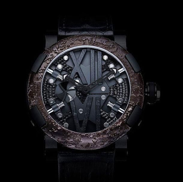 Titanic Steampunk Black Watch, Romain Jerome