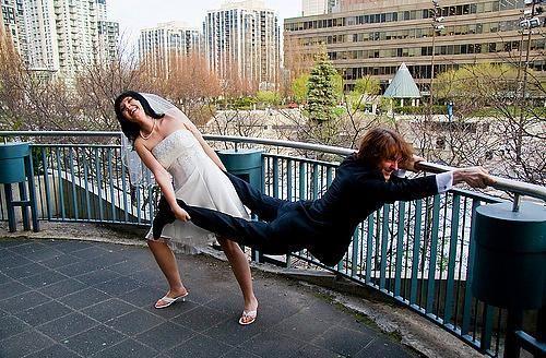 En Tuhaf 33 Düğün Fotoğrafı - 21