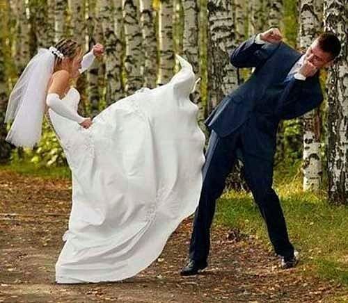 En Tuhaf 33 Düğün Fotoğrafı - 23