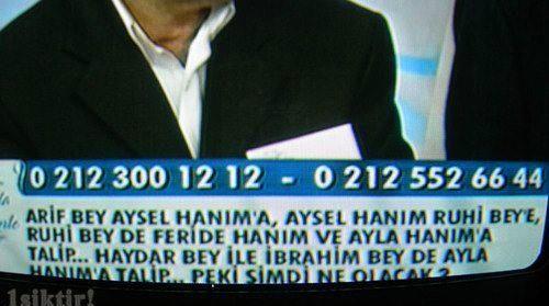 Türk televizyonlarından ilginç ve komik kareler - 7