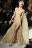 Sezonun trendi altın rengi elbiseler - 2
