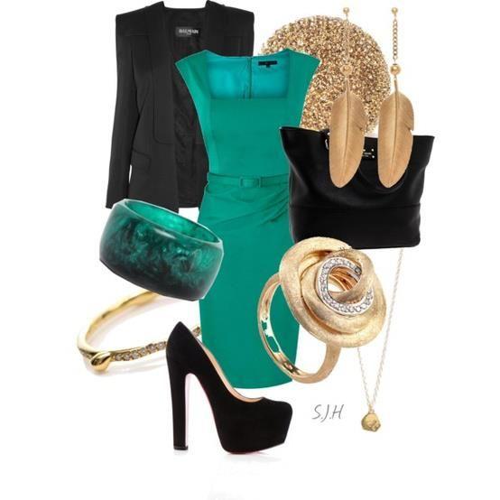 Mavi kalem formlu elbiseniz, siyah blazer ceketiniz ve ona uygun ve topuklu ayakkabıyla mükemmel bir uyum sağlayacaktır.