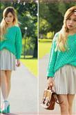 Baharın moda rengi yeşilin en güzel kombinleri! - 5