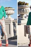 Baharın moda rengi yeşilin en güzel kombinleri! - 6
