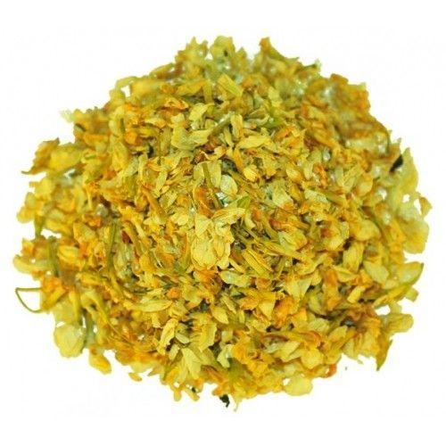 Yasemin: Likörleri kokulandıran, harika kokulu yasemin çiçeği, etkili bir uyarıcıdır.