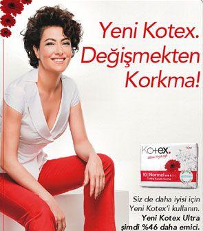Meltem Cumbul'un oynadığı Kotex reklamından 500 bin TL aldığı söyleniyor.
