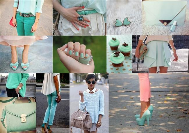 Deniz köpüğü yeşili bu baharın trendi... Deniz köpüğü yeşili renkte olan bir çok aksesuarı alıp, kıyafetlerinizle doğru bir kombin yapabilirsiniz.