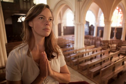 California'da herhangi bir kilisede günah çıkarırken ağlamak yasaktır.