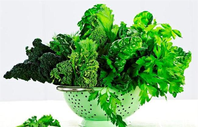 Koyu yeşil yapraklı sebzeler: Koyu yeşil yapraklı sebzeler, B vitamini ailesinde yer alan folik asitten zengindir. B vitaminleri bahar yorgunluğu açısından önem taşıdığı için koyu yeşil yapraklı sebzelerin de soframızda bu mevsimde sıkça yer alması gerekir.
