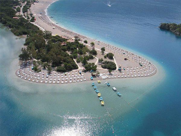 Ölüdeniz plajı  Fethiye / Muğla