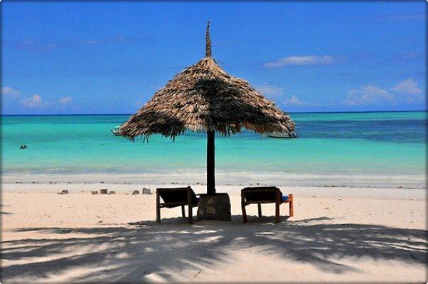 Blue Bay Plajı-Kiwengwa / Zanzibar