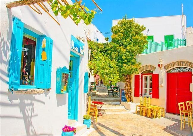 Amorgos Adası, Yunanistan