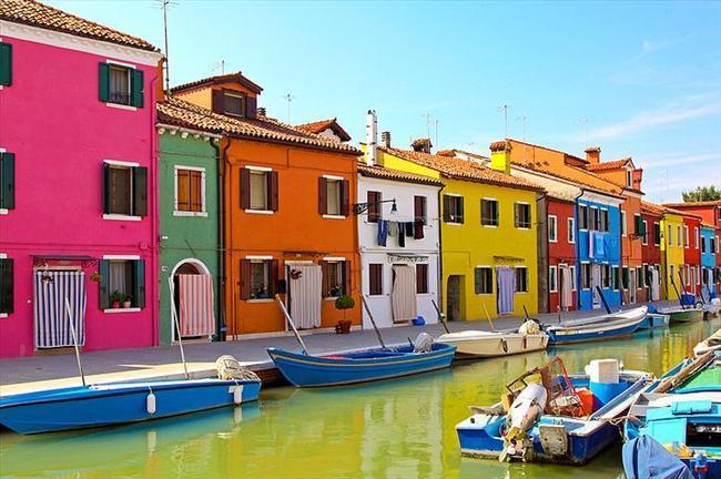 Burano Island, İtalya