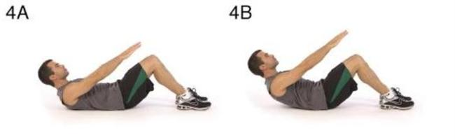 4- Karın kası egzersizi