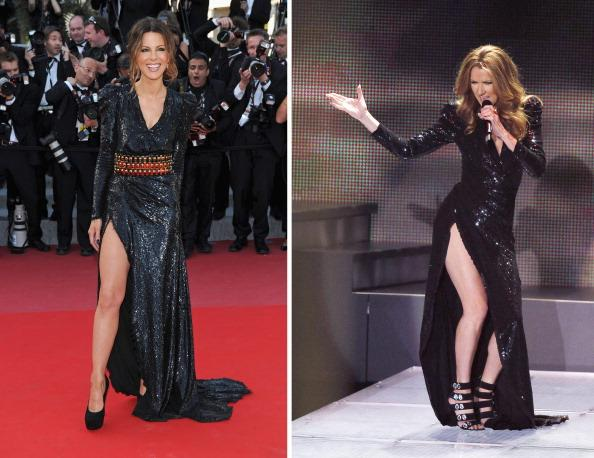 Kate Beckinsale ve Celine Dion