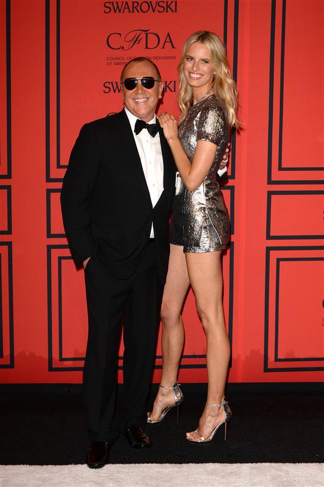 Tasarımcı Michael Kors ve Model Karolina Kurkova