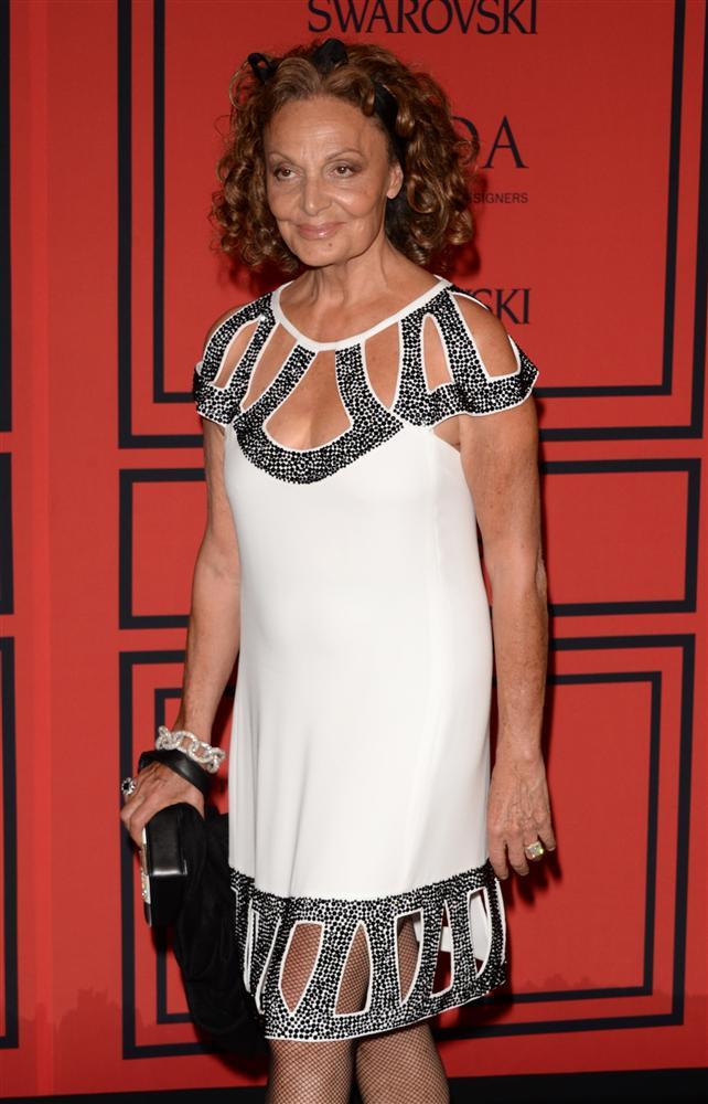 Tasarımcı Diane von Furstenberg