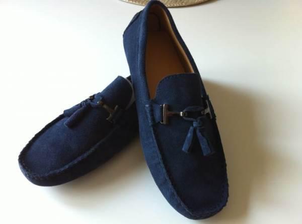 Ayakkabı   Çorapsız giyilen makosen ayakkabılar, babanızın her tarz kıyafetini kolayca tamamlayacak. (Tods)
