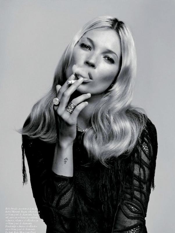 En güzel Kate Moss fotoğrafları! - 9