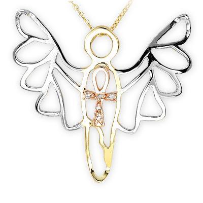 Ariş Pırlanta melek kolye modelleri - 1