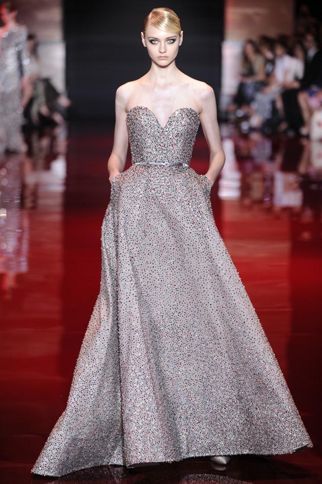 Paris Moda Haftası&Elie Saab defilesi - 18
