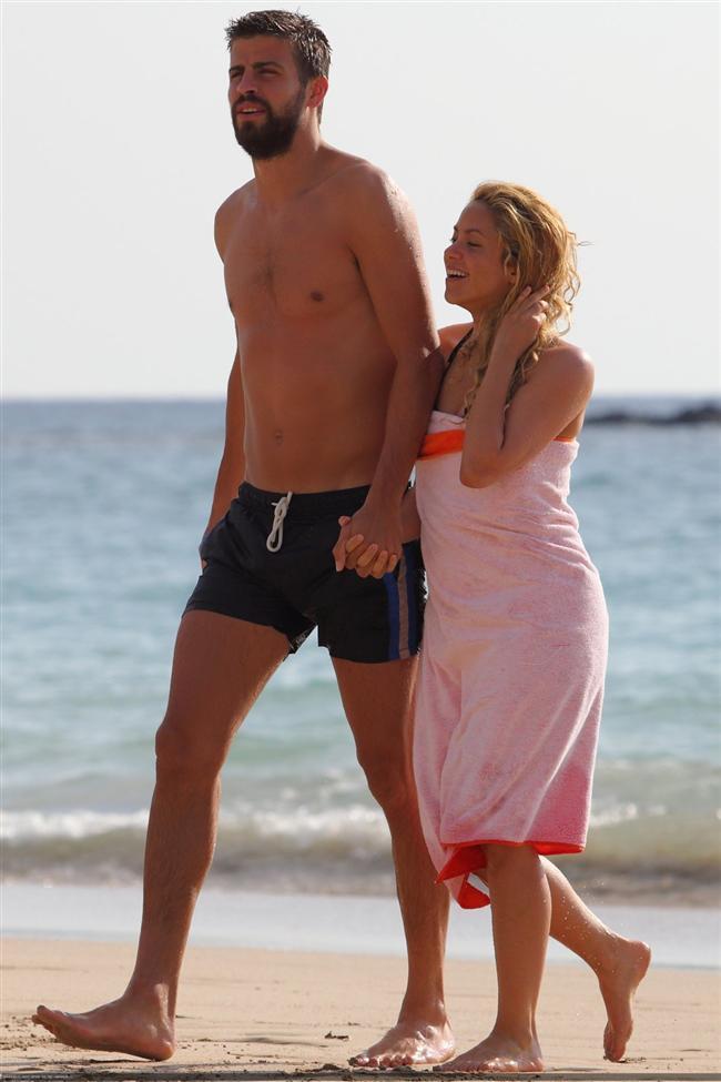 Shakira ve Gerard Pique tatilde - 9