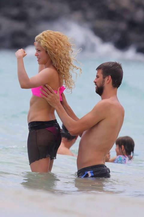 Shakira ve Gerard Pique tatilde - 27