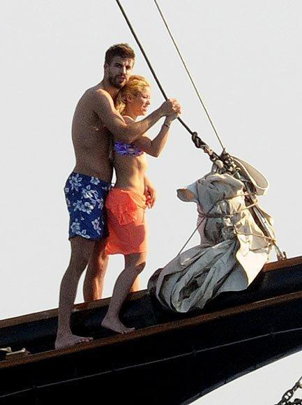 Shakira ve Gerard Pique tatilde - 40