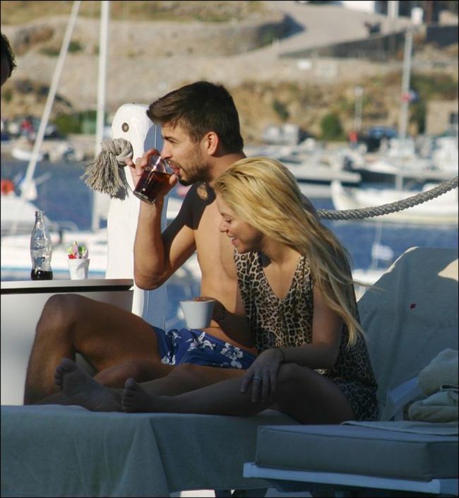 Shakira ve Gerard Pique tatilde - 32