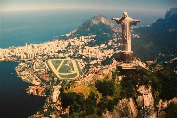 Brezilya - Rio de Jenario, İsa Heykeli