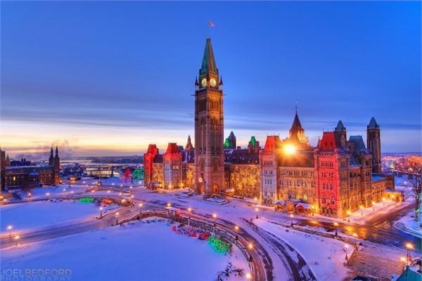 Kanada, Ottowa - Parlamento Binası