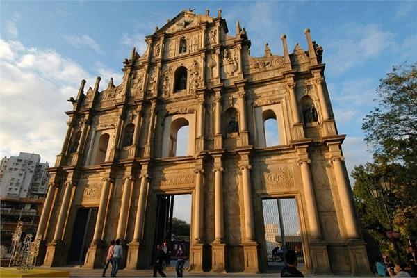 Çin, Macau - St. Paul Kalıntıları