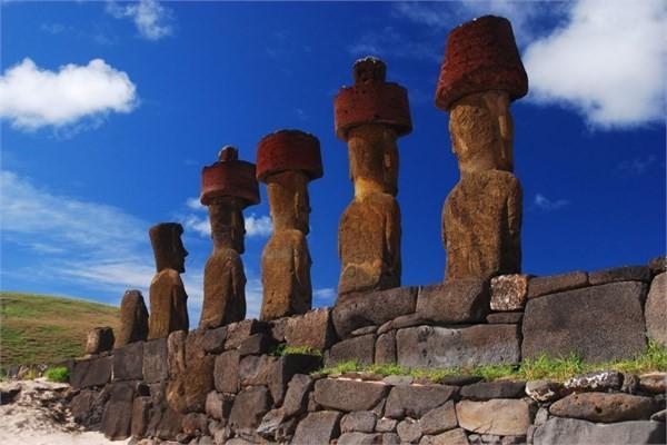 Şili - Moai - Easter Island