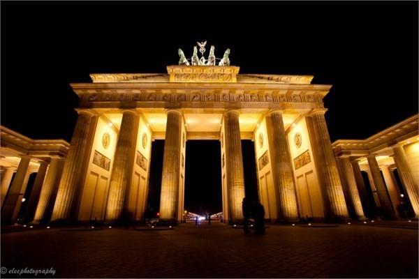 Almanya - Brandenburg Kapısı, Berlin