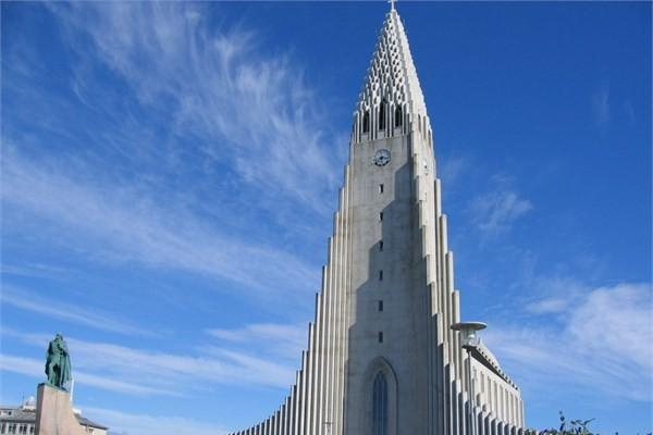 İzlanda, Reykjavik - Hallgrimskirkja