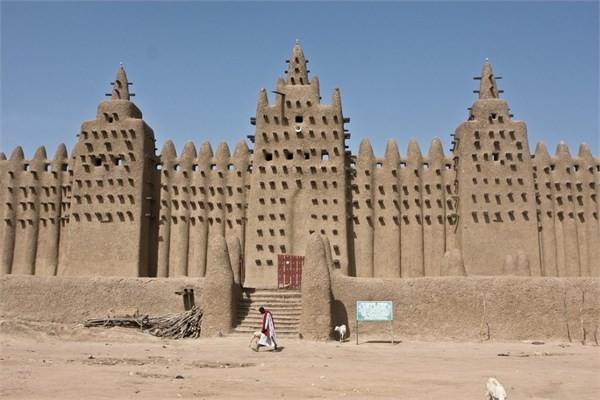 Mali - Büyük Djenné Camisi - Djenné