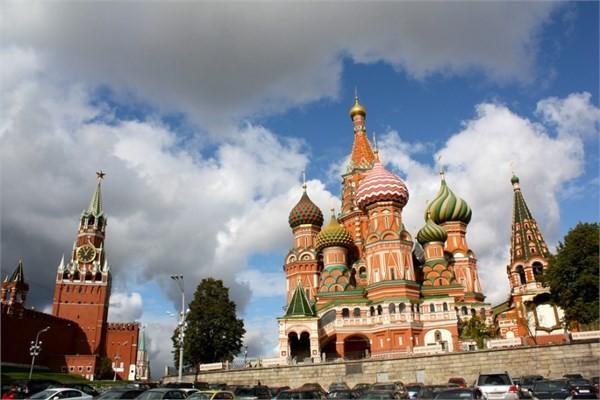 Rusya - Moskova, St. Basil's Katedrali