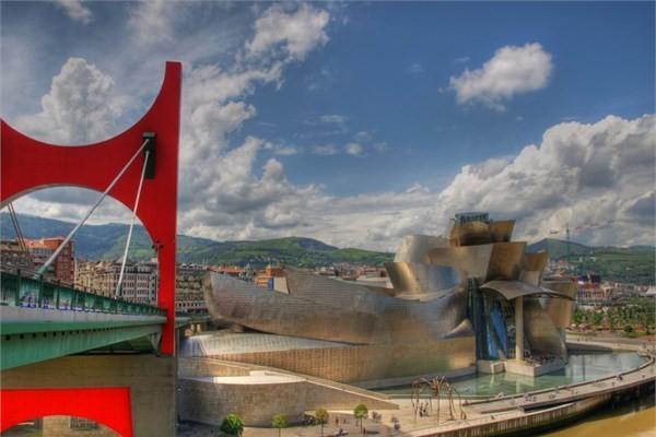 İspanya - Guggenheim Müzesi - Bilbao
