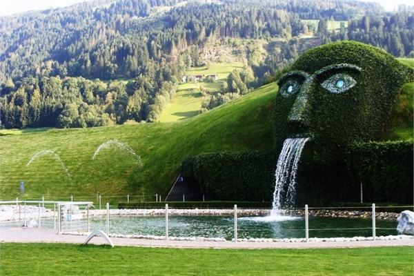 Avusturya, Innsburck - Swarovski Crystal World