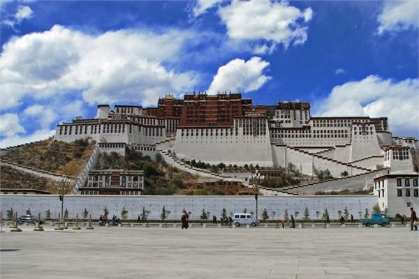 Çin - Potala Sarayı & Lhasa, Tibet Özerk Bölgesi