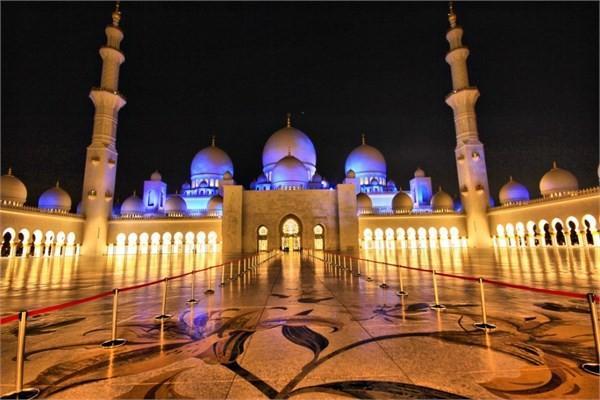 Birleşik Arap Emirlikleri - Büyük Sheikh Zayed Cami - Abu Dabi