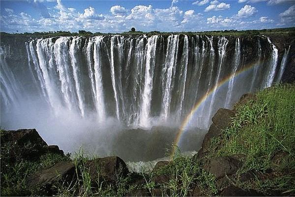 Zambiya & Zimbabwe sınırı - Victoria Şelalesi